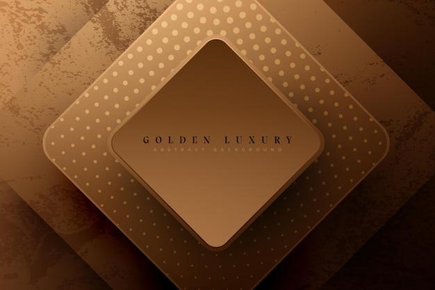 Koncepcja Tło Luksusowe Złoto Premium Wektorów