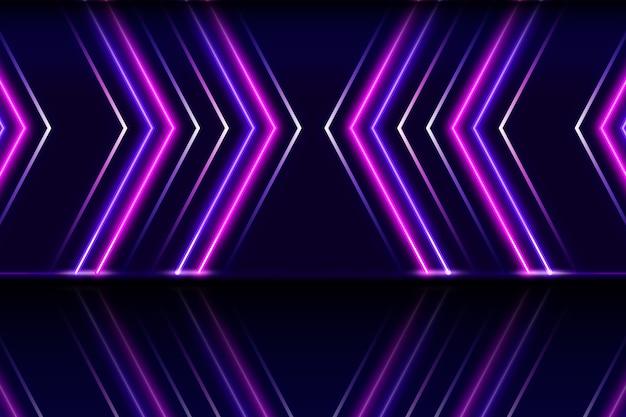 Koncepcja Tło światła Neonowe Darmowych Wektorów