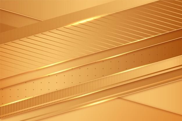 Koncepcja Tło Złoty Luksus Darmowych Wektorów