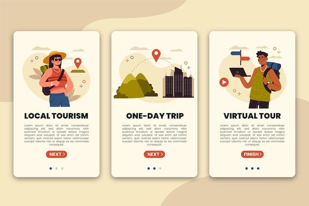 Koncepcja Turystyki Lokalnej Darmowych Wektorów