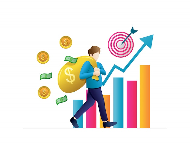 Koncepcje biznesowe dla inwestycji Premium Wektorów