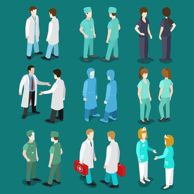 Koncepcyjne Profesjonalny Medycyna Opieki Zdrowotnej. Darmowych Wektorów
