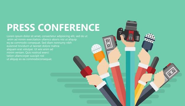 Konferencja Prasowa Premium Wektorów