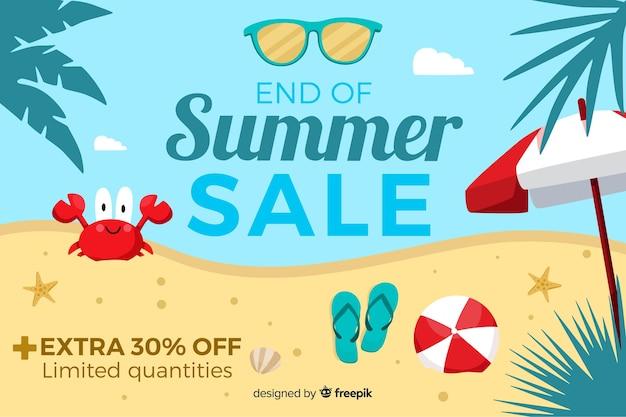 Koniec Sprzedaży Letniej Premium Wektorów