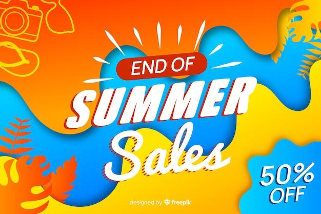 Koniec sprzedaży letniej Darmowych Wektorów