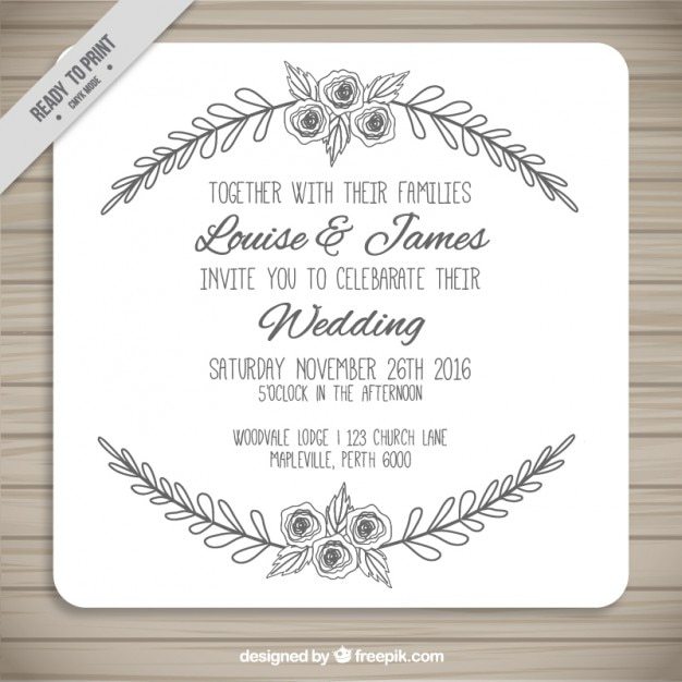 Vintage Wedding Invitation Designs is luxury invitations example