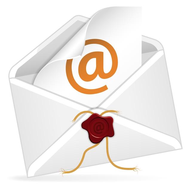 Koperta E-mail Premium Wektorów