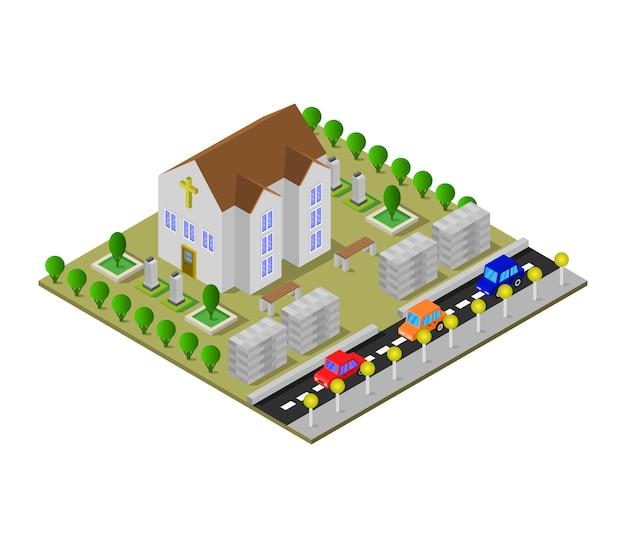 Kościół Izometryczny Darmowych Wektorów