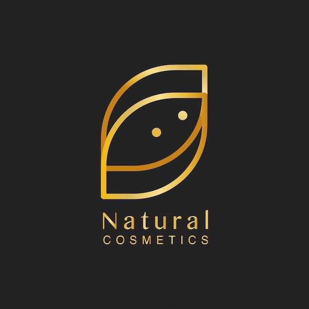 Kosmetyki Naturalne Projektowanie Logo Wektor Darmowych Wektorów