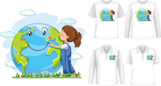 Koszula Przytulająca Serce Darmowych Wektorów