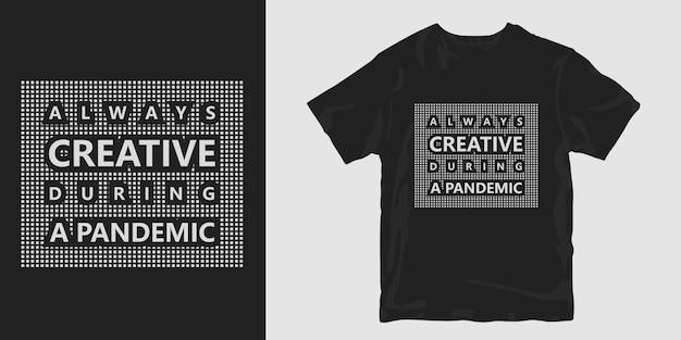 Koszulka Pandemiczna Z Wirusem Corona Premium Wektorów