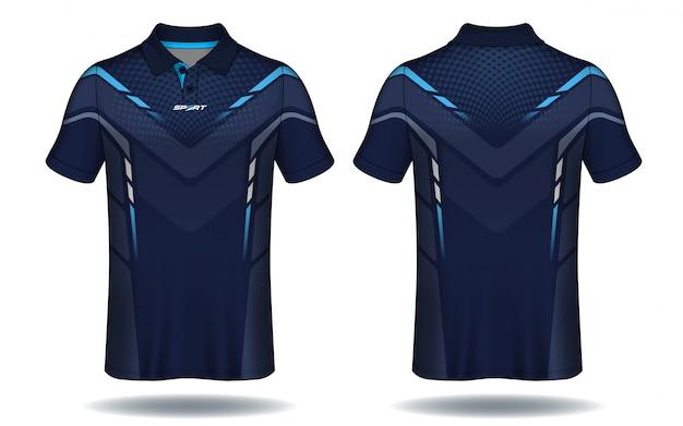 Koszulka polo Premium Wektorów