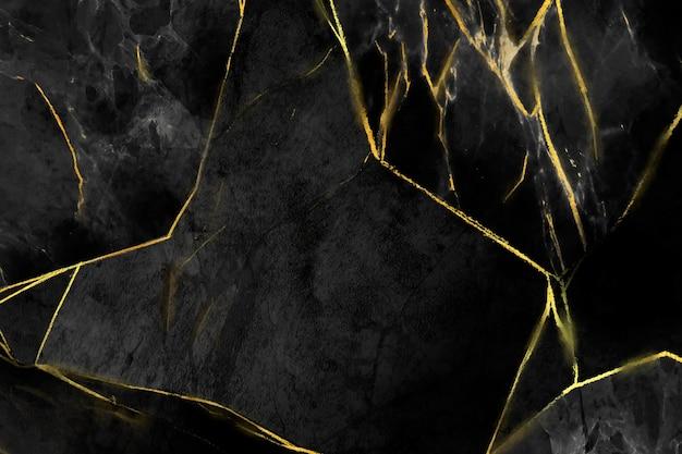 Kreatywne Marmurowe Tło Ze Złotymi Detalami Darmowych Wektorów