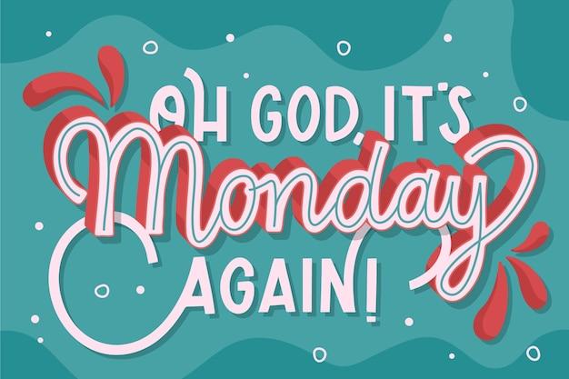 Kreatywny, O Boże, Znowu Poniedziałek Darmowych Wektorów