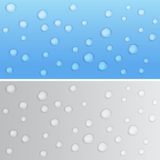 Krople Wody Premium Wektorów