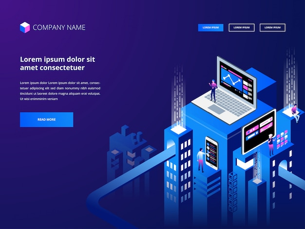 Kryptowaluta I Blockchain. Tworzenie Platformy Cyfrowej Waluty. Biznes Internetowy, Analityka I Zarządzanie. Premium Wektorów