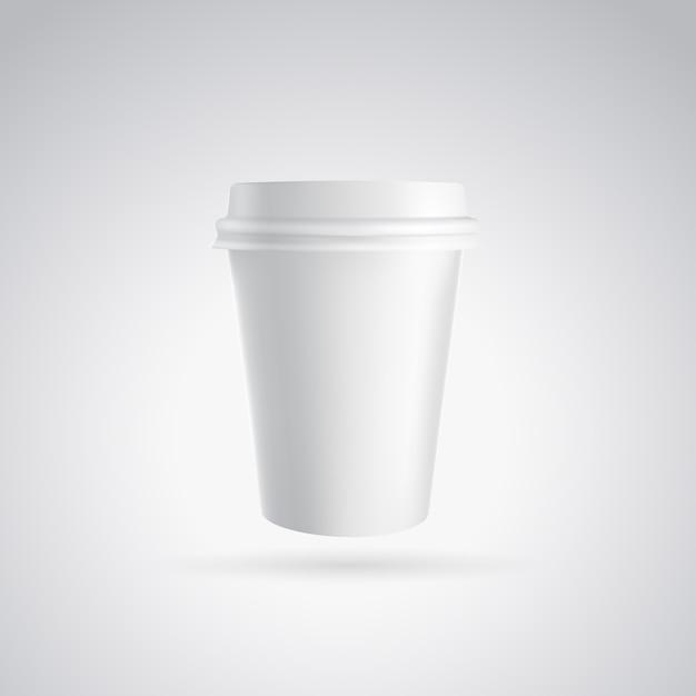 Kubek Papierowy Do Kawy. Darmowych Wektorów