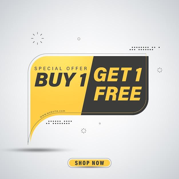 Kup Otrzymaj Darmowy Projekt Szablonu Banera Premium Wektorów