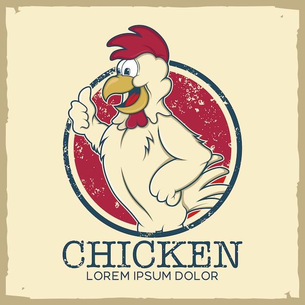 Kurczak szablon logo Darmowych Wektorów