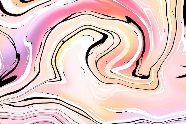 Kwas Marmurowy Tło Darmowych Wektorów