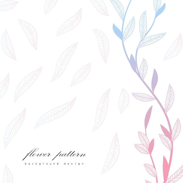 Kwiatowy rama z kolorowy kwiat. Darmowych Wektorów