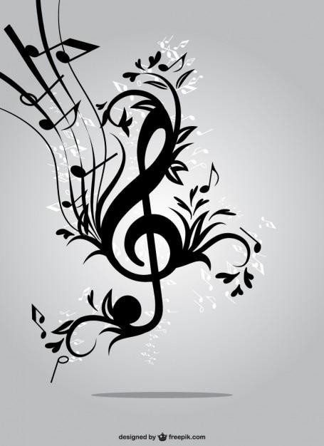 muzyka czaszki wektor - photo #17
