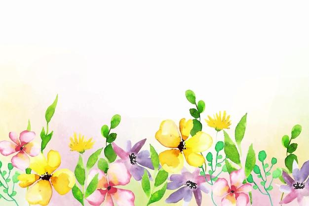 Kwiatowy Wzór Tła Darmowych Wektorów