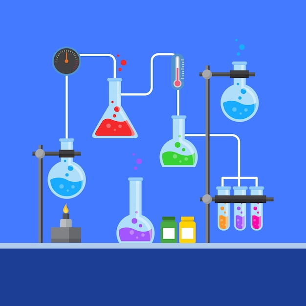 Laboratorium Naukowe Płaska Konstrukcja Darmowych Wektorów