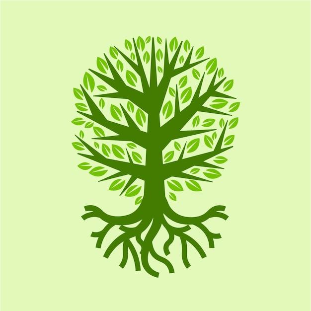 Lato Ręcznie Rysowane Drzewa życia Darmowych Wektorów