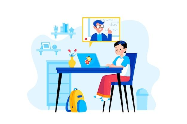 Lekcje Online Dla Dzieci Darmowych Wektorów