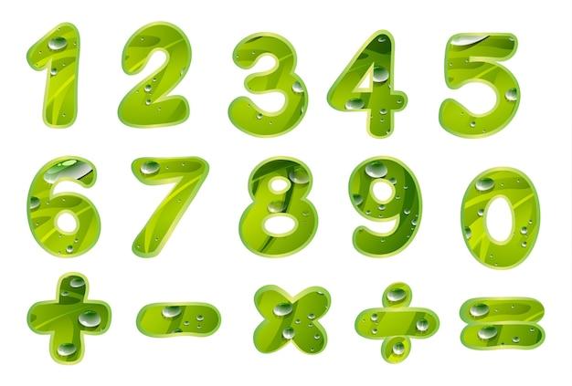 Liczby I Znaki Darmowych Wektorów