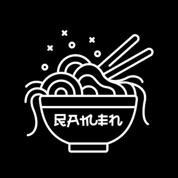 Linia Ramen Premium Wektorów