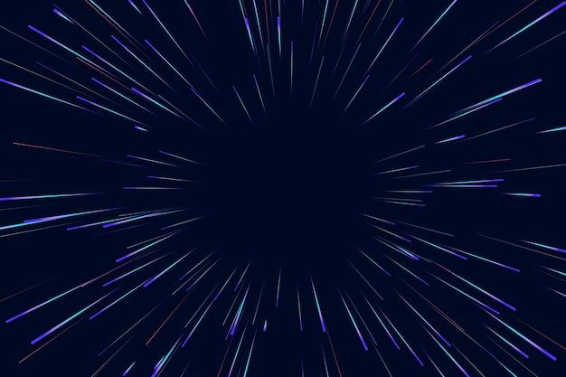 Linie Tła świateł Prędkości Darmowych Wektorów