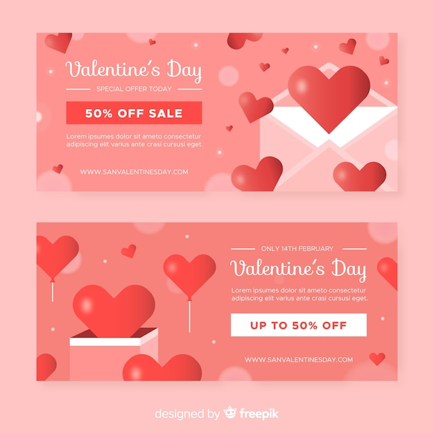 List i pudełko valentine sprzedaży Darmowych Wektorów