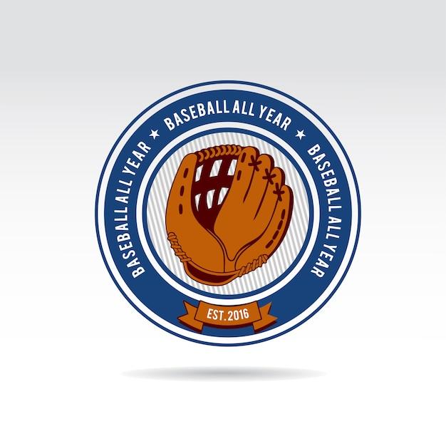 Logo Baseballu Premium Wektorów