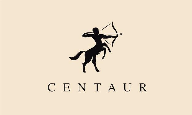 Logo Centaur Premium Wektorów