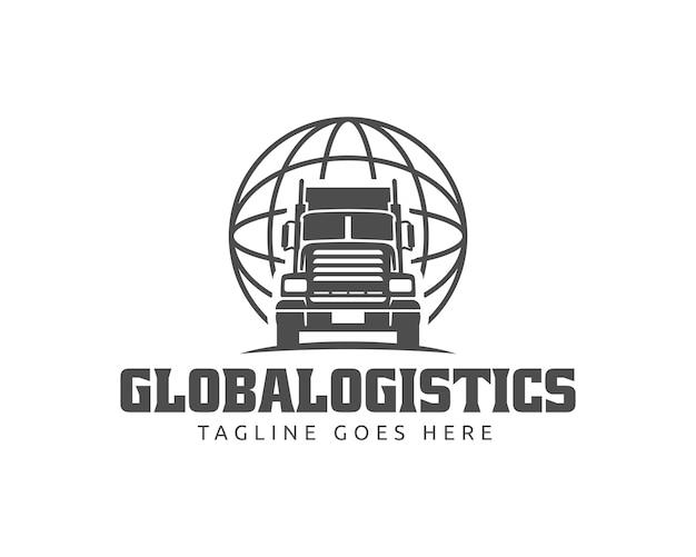 Logo ciężarówki Premium Wektorów