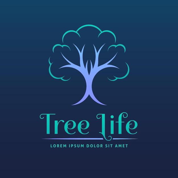 Logo Drzewa życia Darmowych Wektorów