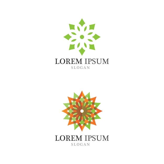 Logo Ekologiczne Koncepcja Liść Drzewa Premium Wektorów
