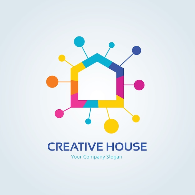 Logo Firmy Creative, Logo Real Esate, Szablon Logo Firmy Premium Wektorów