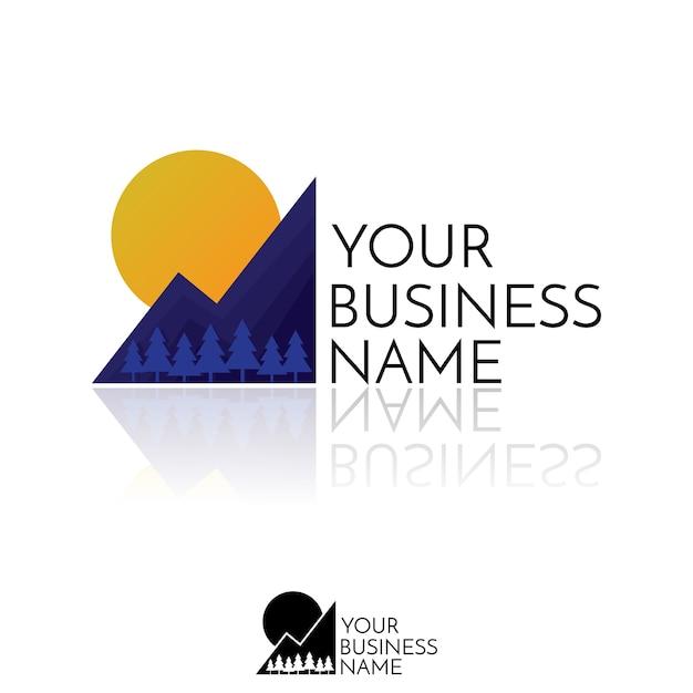 Logo Górskie. Projekt Koncepcyjny Przygody, Turystyka, Sport Na świeżym Powietrzu, Odzież, Internet. Premium Wektorów