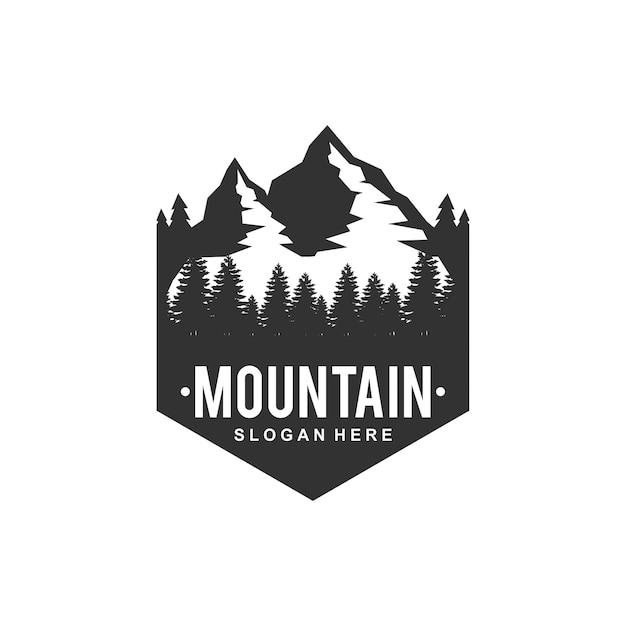 Logo górskie Premium Wektorów