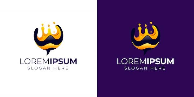 Logo Honeybee Premium Wektorów