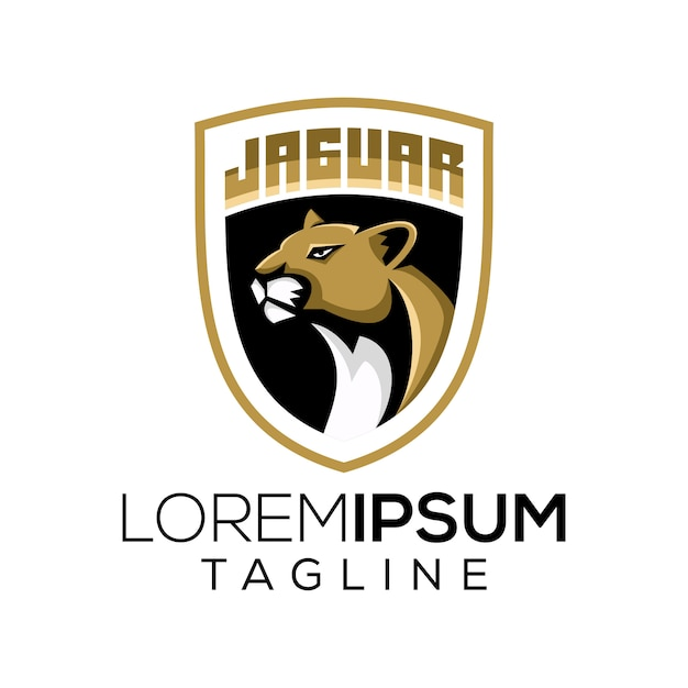 Logo jaguara Premium Wektorów