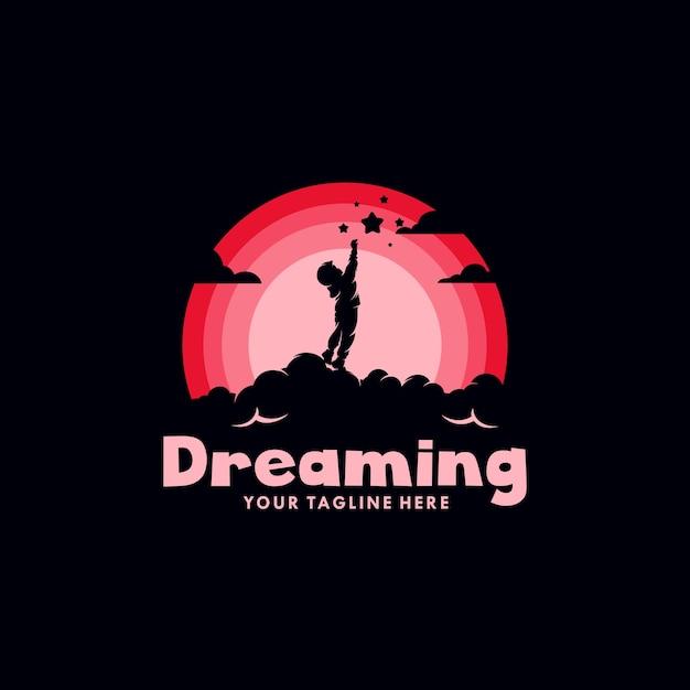 Logo Kids Dream Premium Wektorów