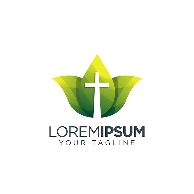 Logo Krzyżowe Premium Wektorów