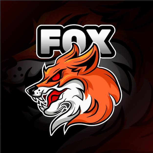Logo Maskotka Dzikiego Lisa Darmowych Wektorów