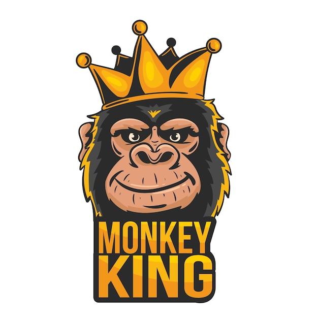 Logo Maskotki Z Małpą Darmowych Wektorów