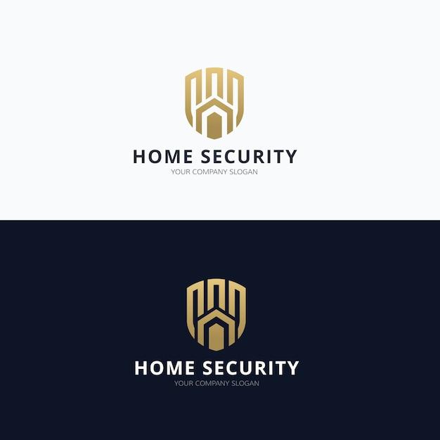 Logo Nieruchomości, Logo Home Care, Własność, Logo Domu, Dom I Budynek, Szablon Logo Firmy Premium Wektorów