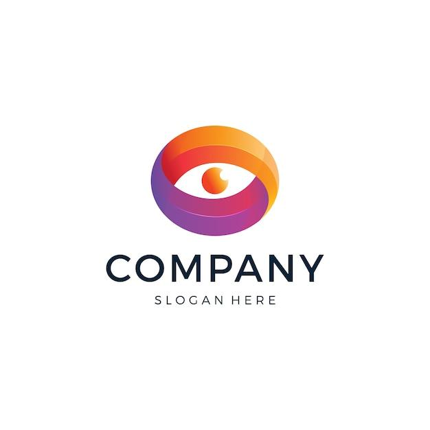 Logo Oka Premium Wektorów